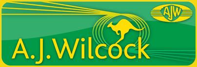 AJ Wilcock logo