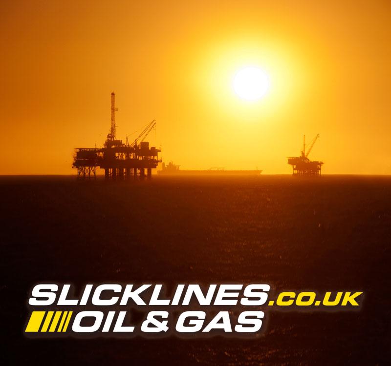 Slickline oil rig image